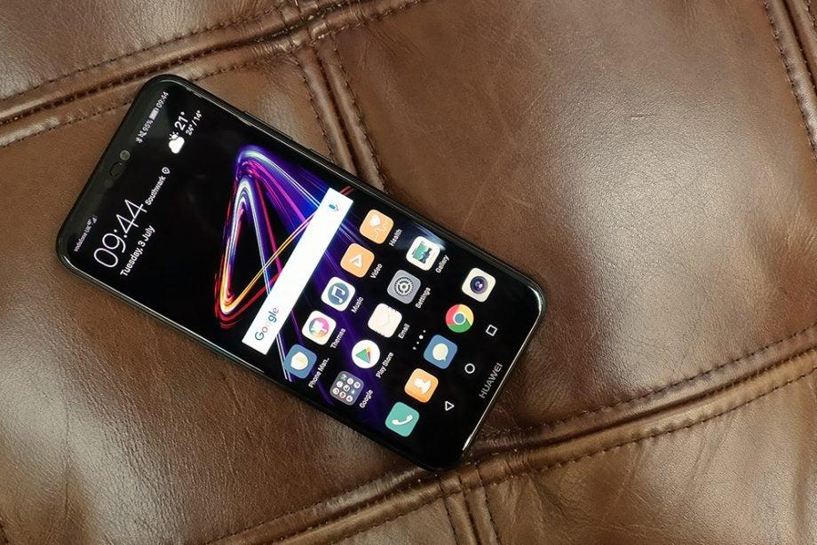 Huawei P20 Lite top down