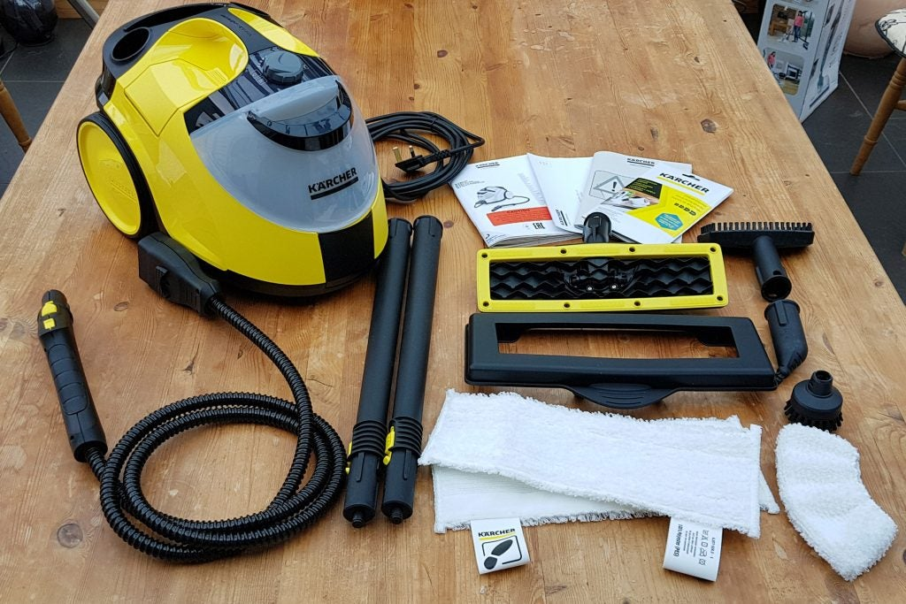 karcher sc5 easyfix premium steam cleaner review trusted. Black Bedroom Furniture Sets. Home Design Ideas