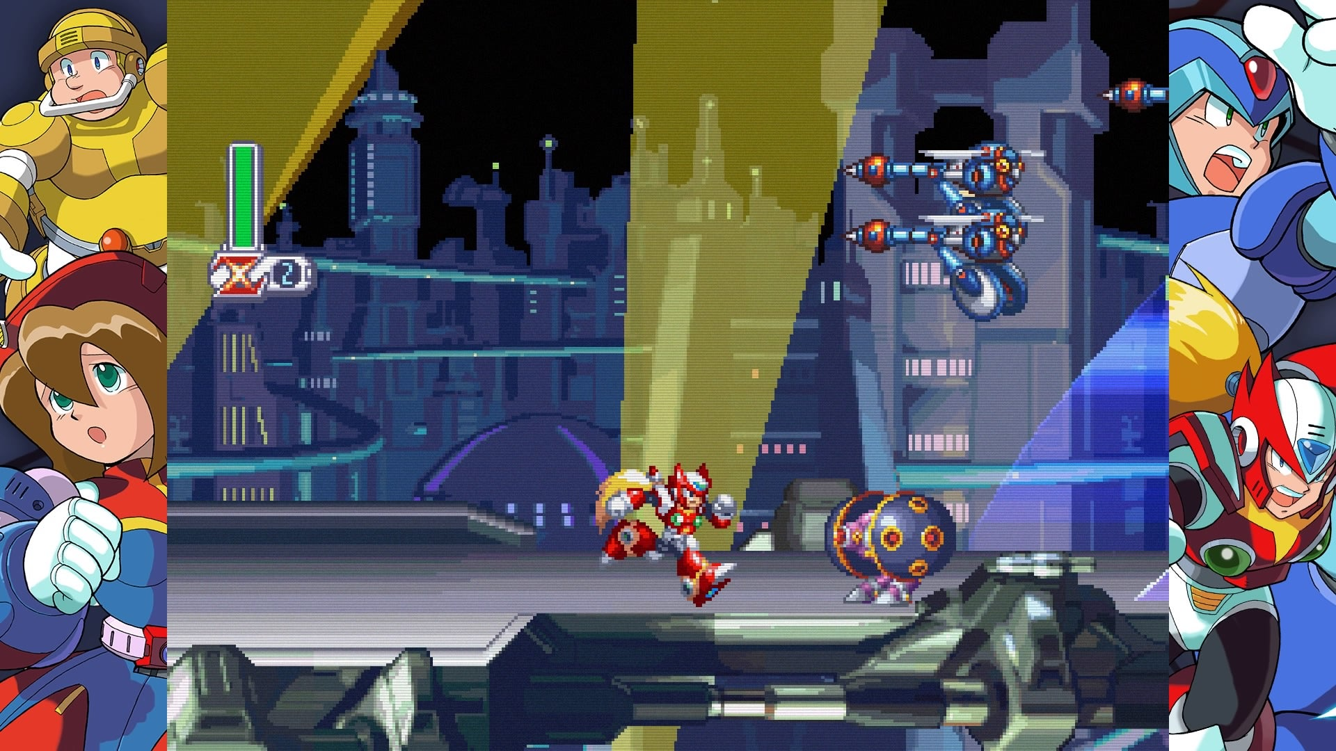 Megaman x4 secret code | Mega Man X4  2019-04-08