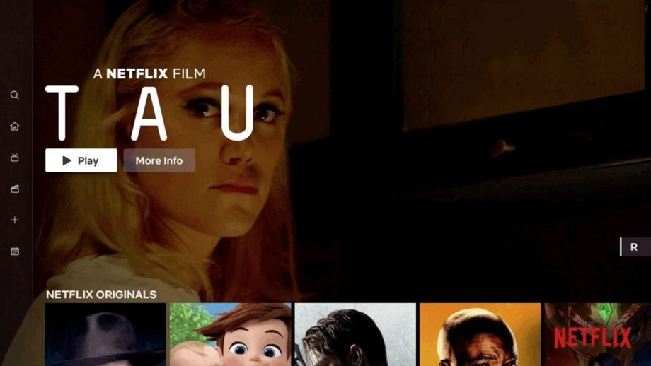 Netflix new interface tv design movies tv shows