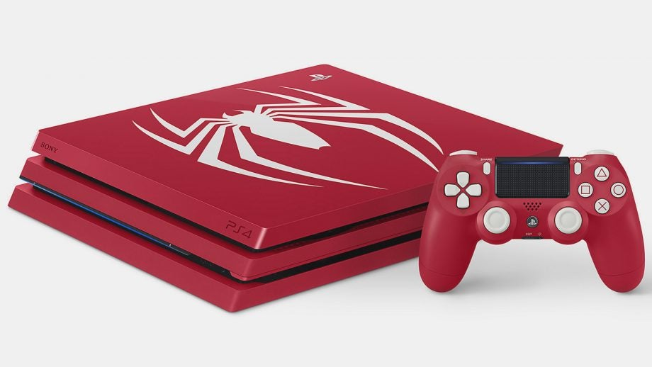 PS4 Pro Spider-Man Amazing Red bundle playstation
