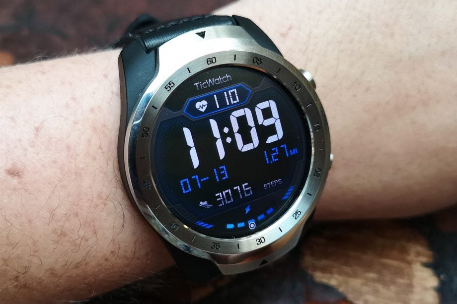 TicWatch Pro Zoran watch face
