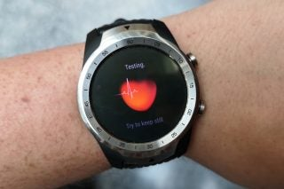TicWatch Pro heart rate