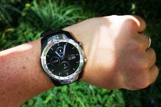 TicWatch Pro on wrist 2