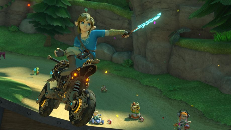 mario kart 8 deluxe gets a new character and motorcycle in free update
