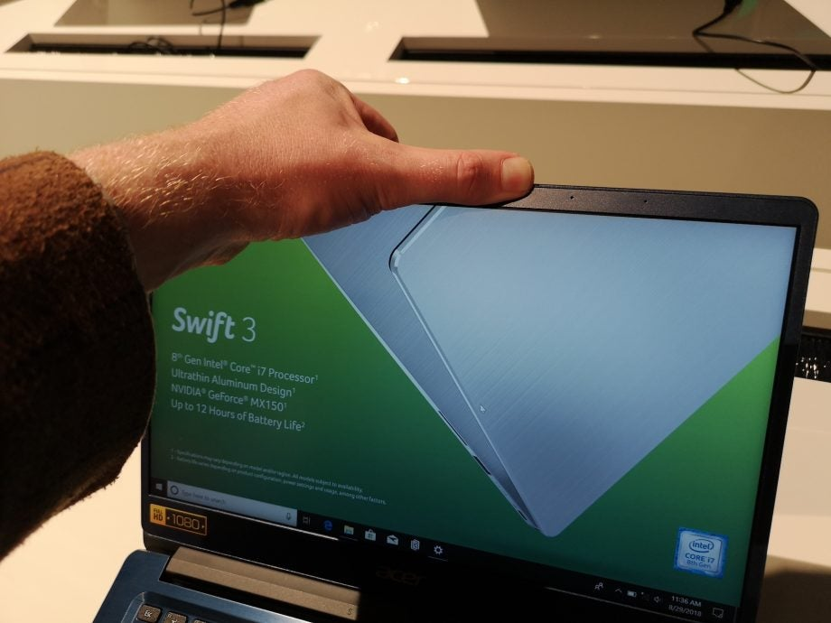 Acer Swift 3 (2018) first look: A gigabit Wi-Fi laptop for