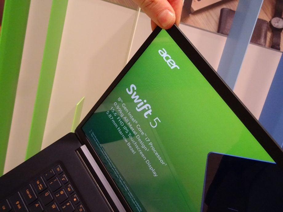Acer Swift 5 (2018) first-look: Hands-on with the 'world's