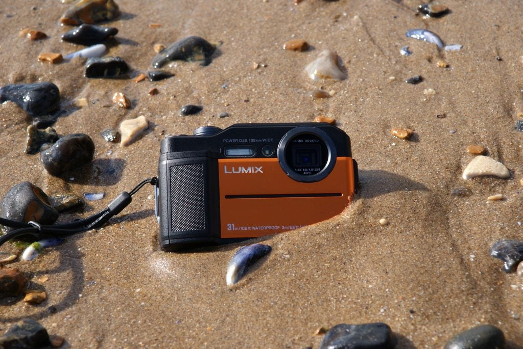 Best Waterproof Compact With A Viewfinder Panasonic Lumix Ft7