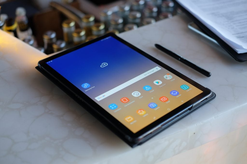 samsung galaxy tab s4 review trusted reviews. Black Bedroom Furniture Sets. Home Design Ideas