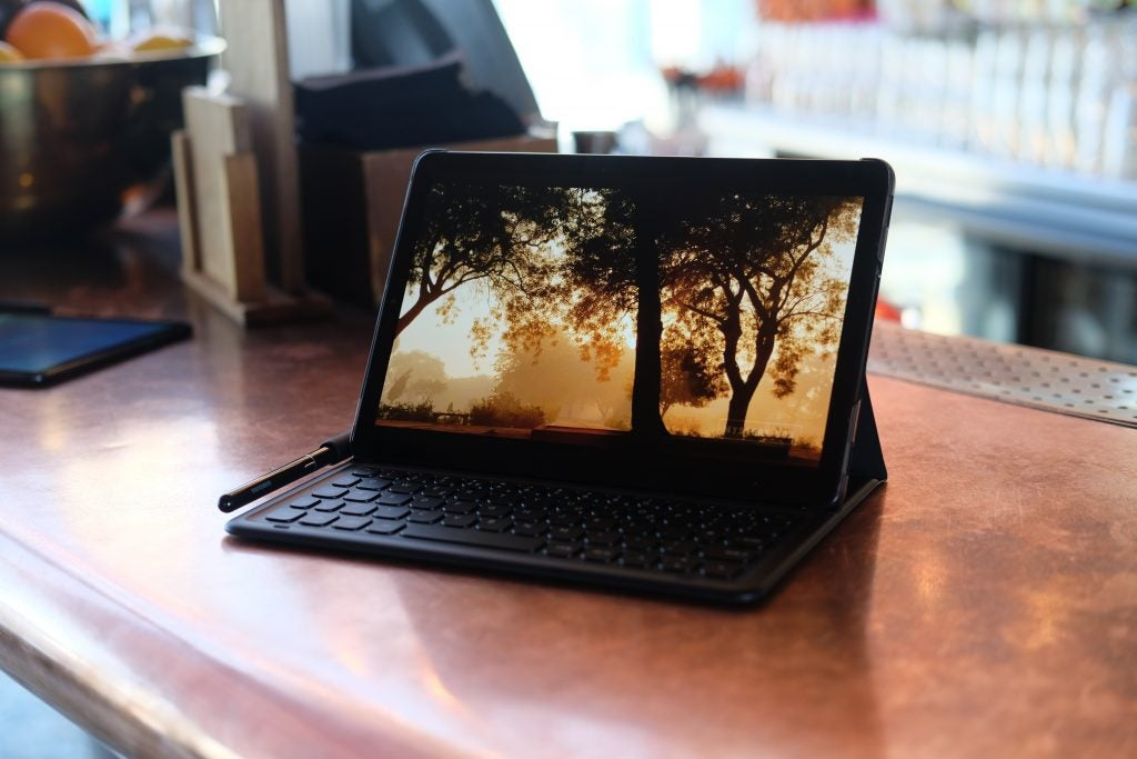 Galaxy Tab S4 - video