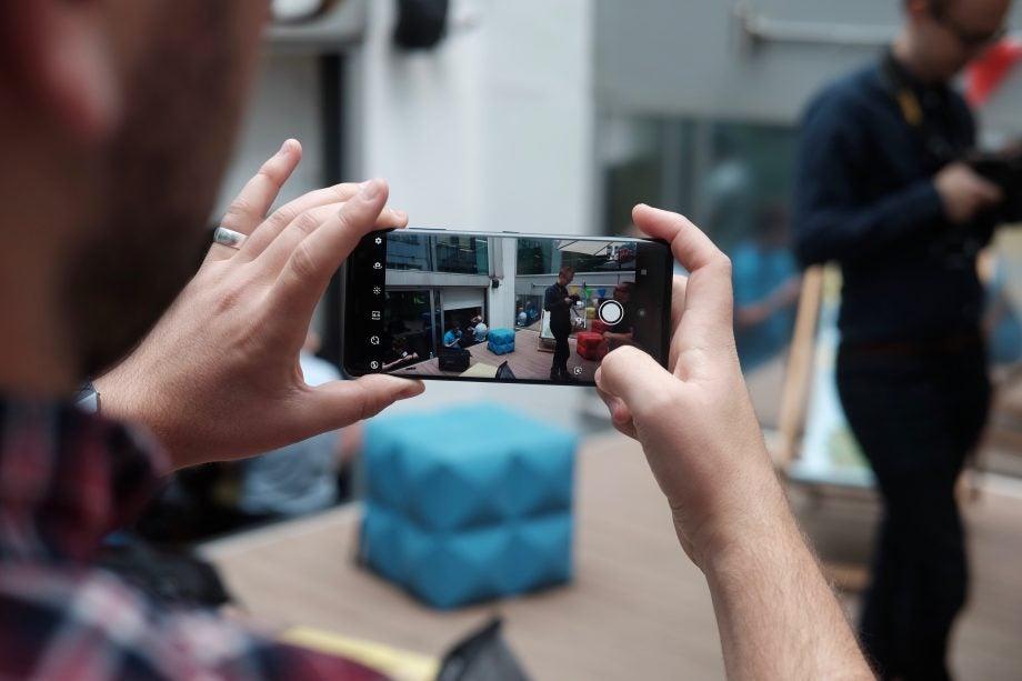 Sony Xperia XZ3 camera