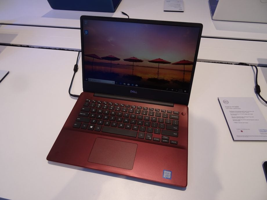 The Dell Inspiron 15 5000 (5580), viewed from the front.