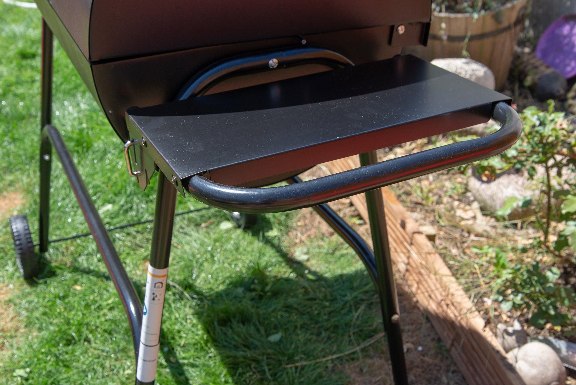 George Foreman GFDRMBBQ Drum Charcoal BBQ shelf