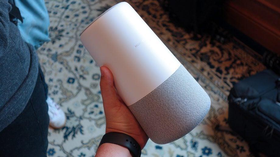Huawei AI Cube in hand