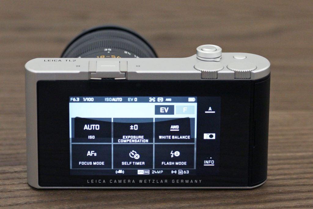 Leica TL2 dial mode