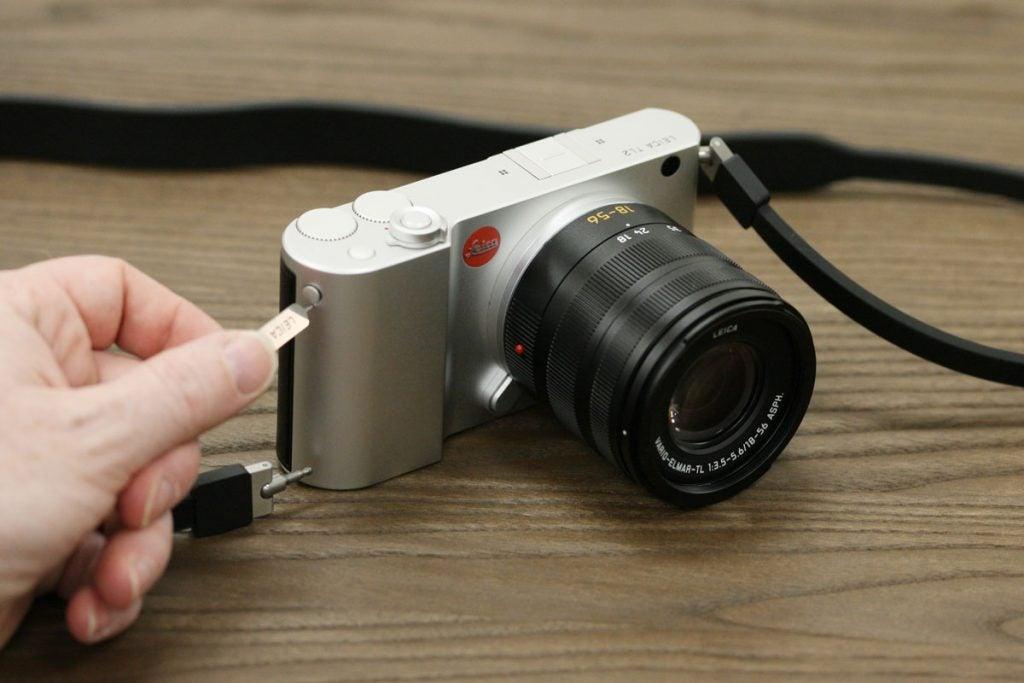 Leica TL2 strap