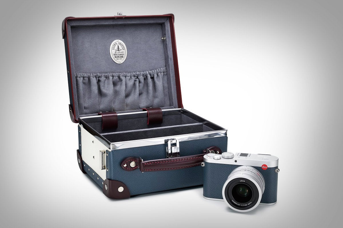 Leica and Globe-trotter team up to make a limited edition travel camera