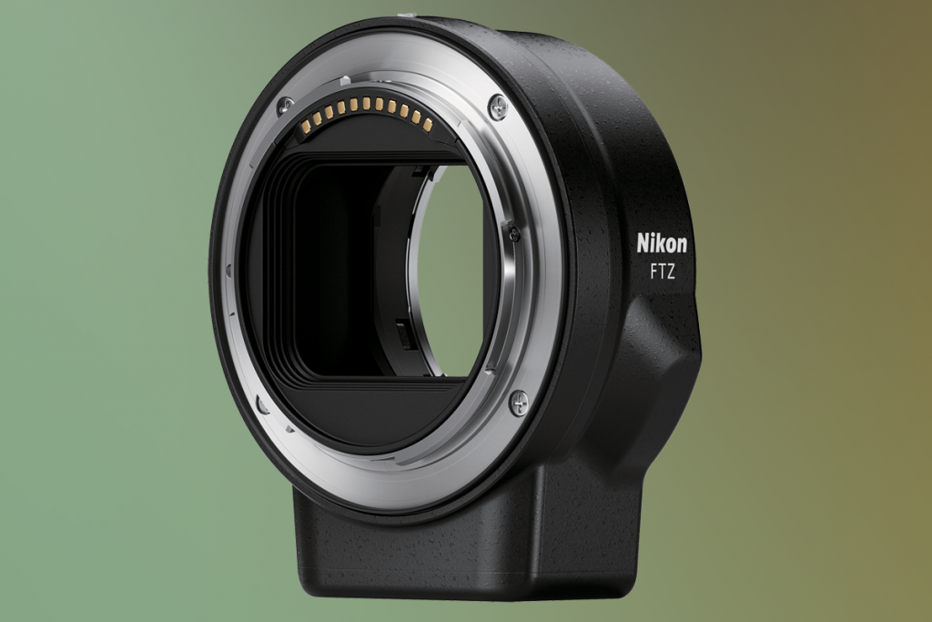 Nikon Z6 Z7 FTZ mount