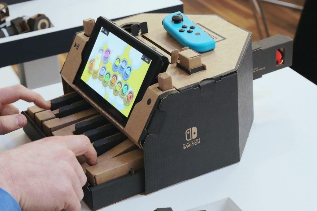 Nintendo Labo Variety Kit Piano 1