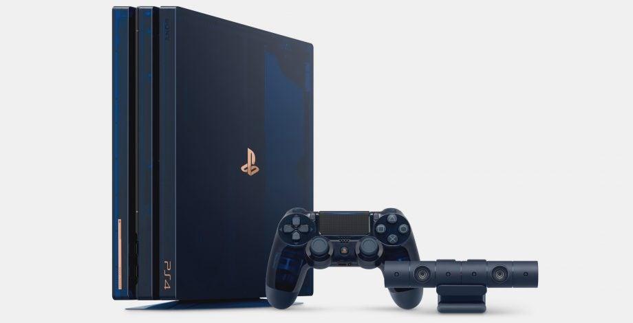 PS4 Pro Blue