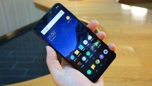 Xiaomi Pocophone F1 handheld