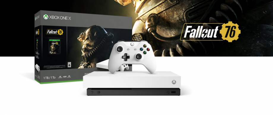 Fallout White Xbox One X bundle