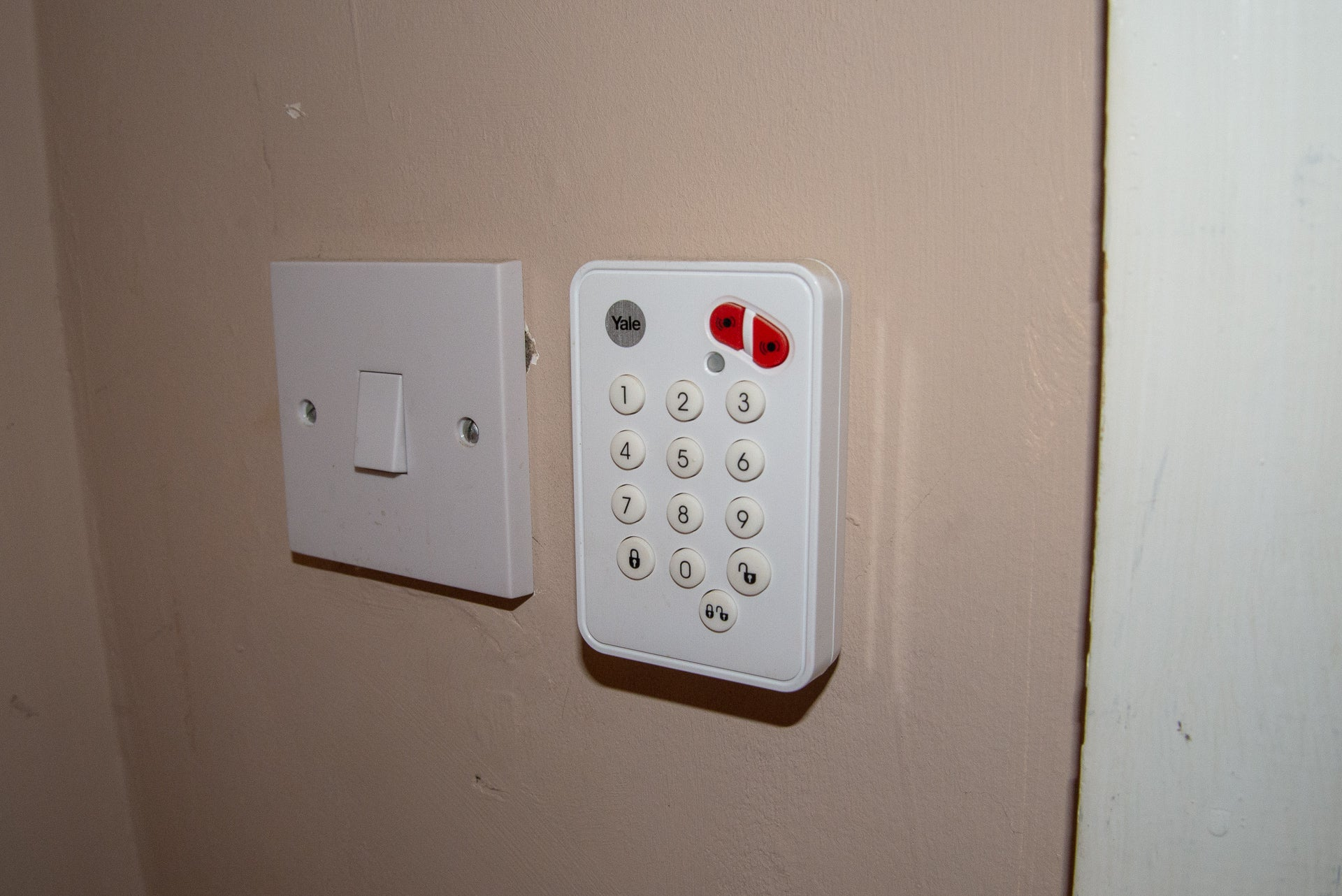 Mini Home Alarm Magnetic Contacts System