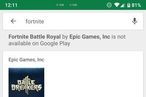 Fortnite for Android: Epic addresses performance on non-Samsung phones