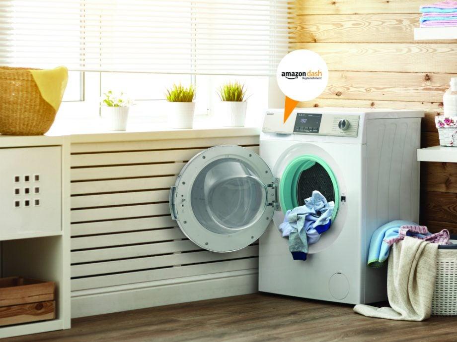 sharp Smart IntelliDos washing machine amazon dash replenishment ifa 2018