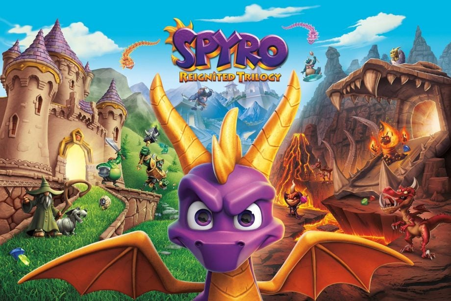 Image result for spyro reignited trilogy switch