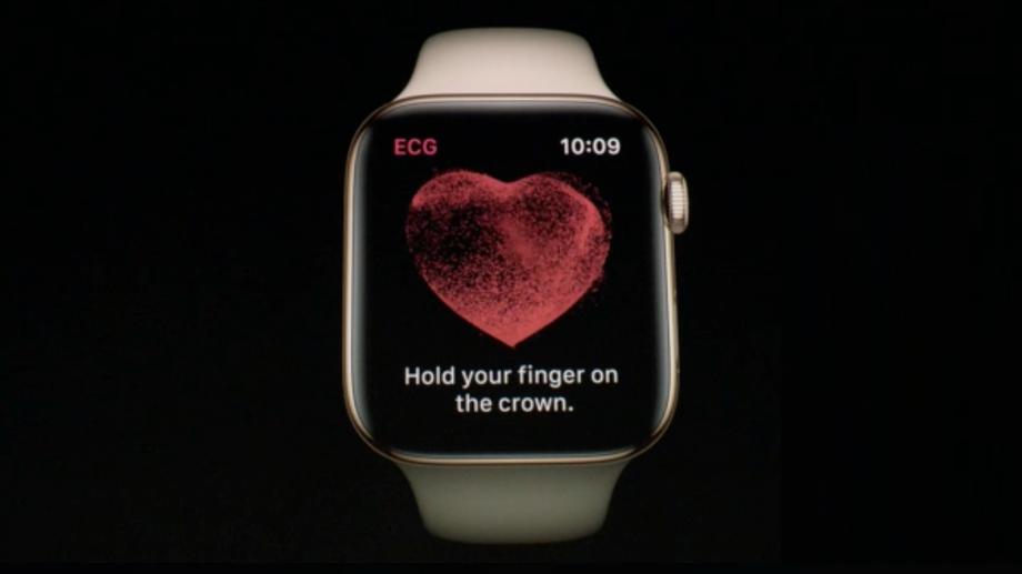 Apple Watch series 4 ECG EKG