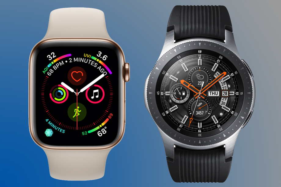 Apple Watch 4 s Galaxy Watch