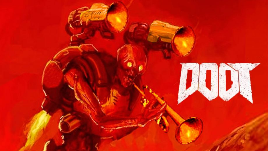 Bring on the trumpets: YouTuber mods Doom to play with a toy