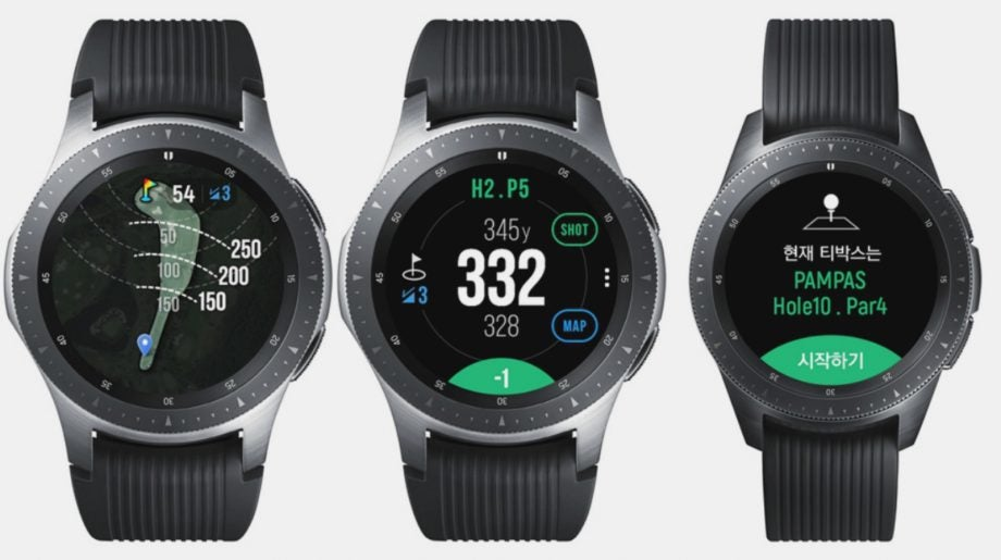 Carta Mobel Dekoration | Samsung Galaxy Watch Golf Edition Is Here But It S A Double Bogey