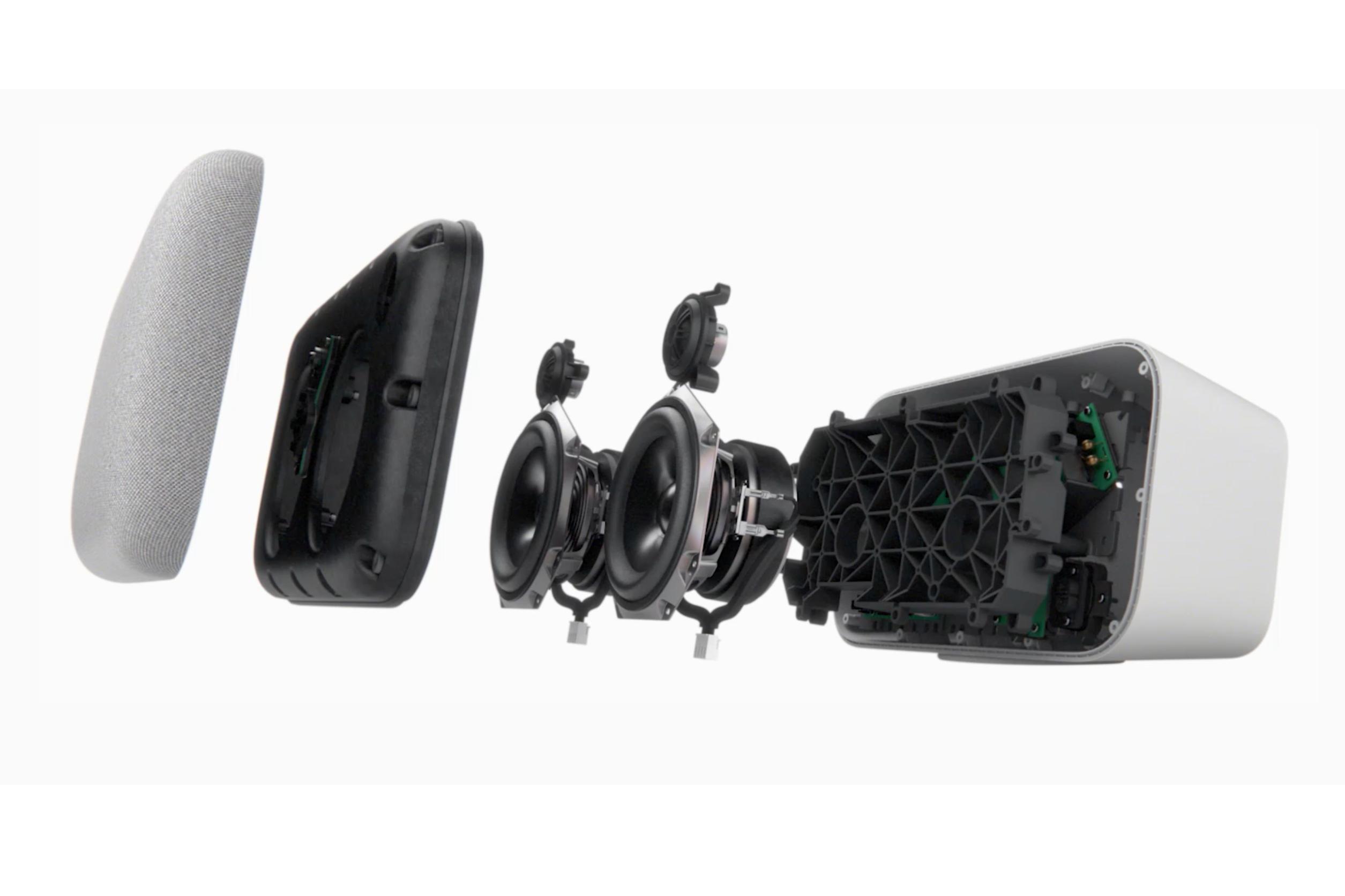 Google Home Max speaker configuration