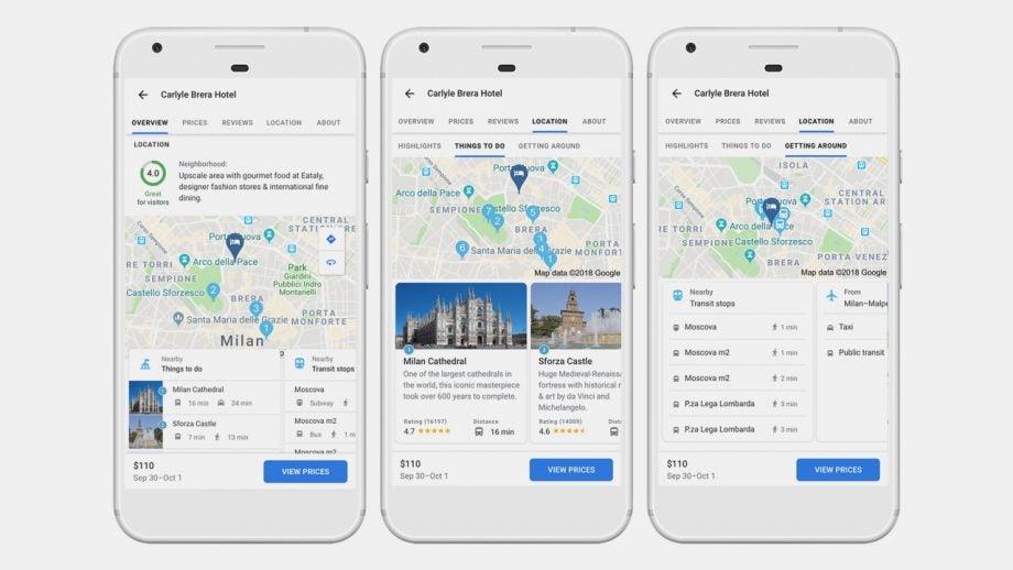 Google Travel Tips