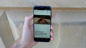 Nuu Mobile G3 - Web browsing