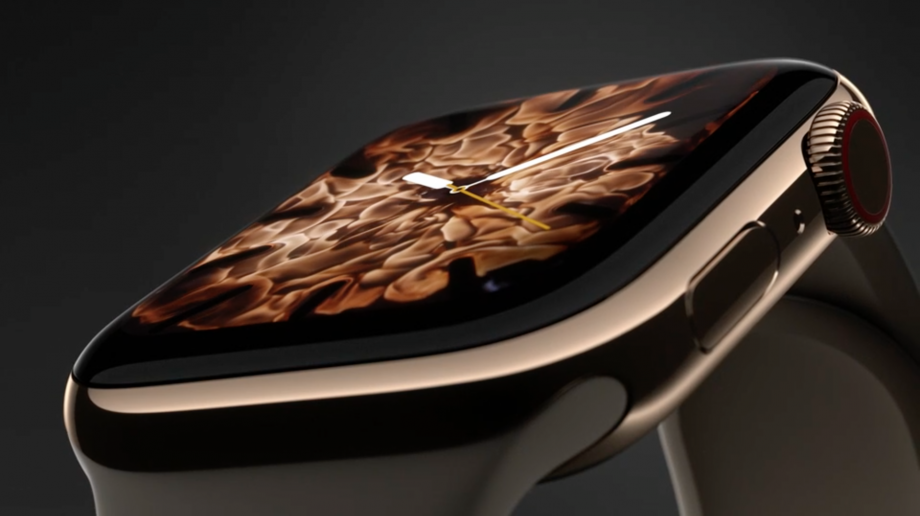 The Apple Watch Series 4 fire face was created with a