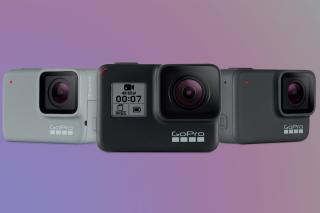 GoPro Hero 7 range