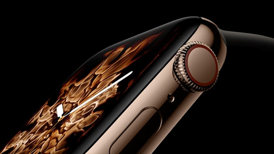 Apple Watch 4 Fire face
