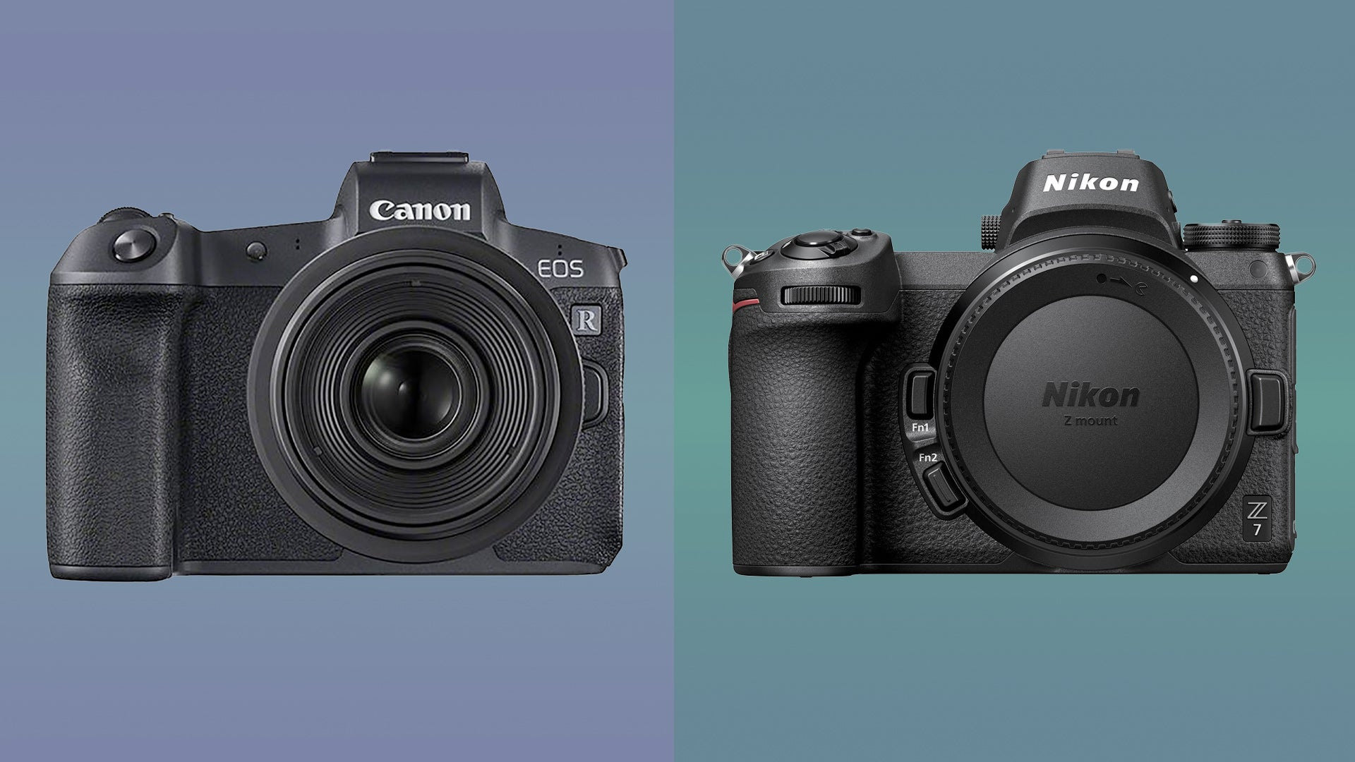 Canon Eos R Vs Nikon Z6 And Z7 Which Is Best Trusted Reviews