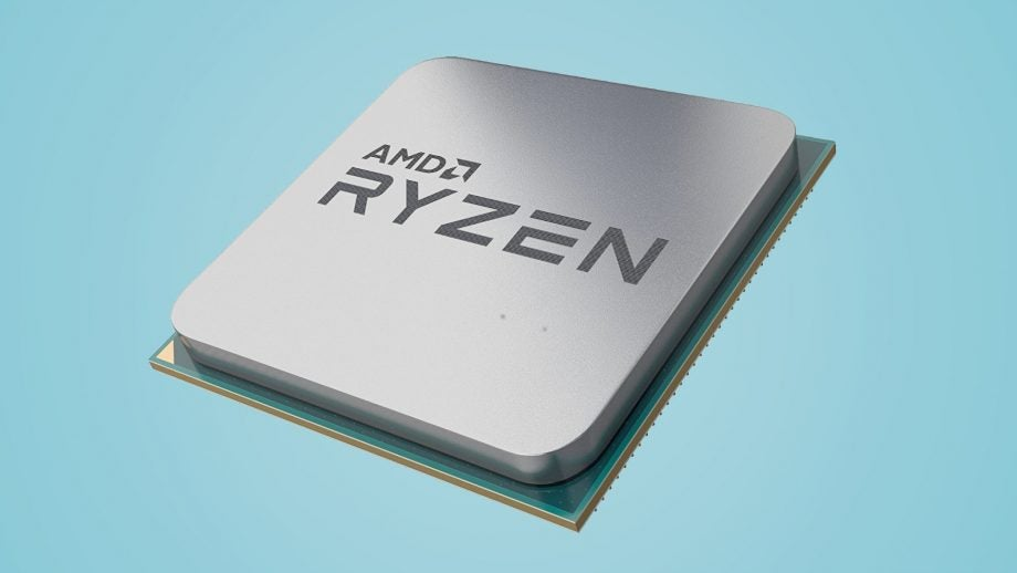 Press render of a generic AMD Ryzen CPU.