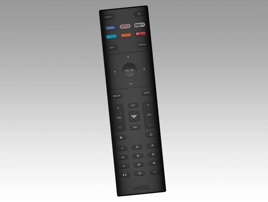 vizio tv remote