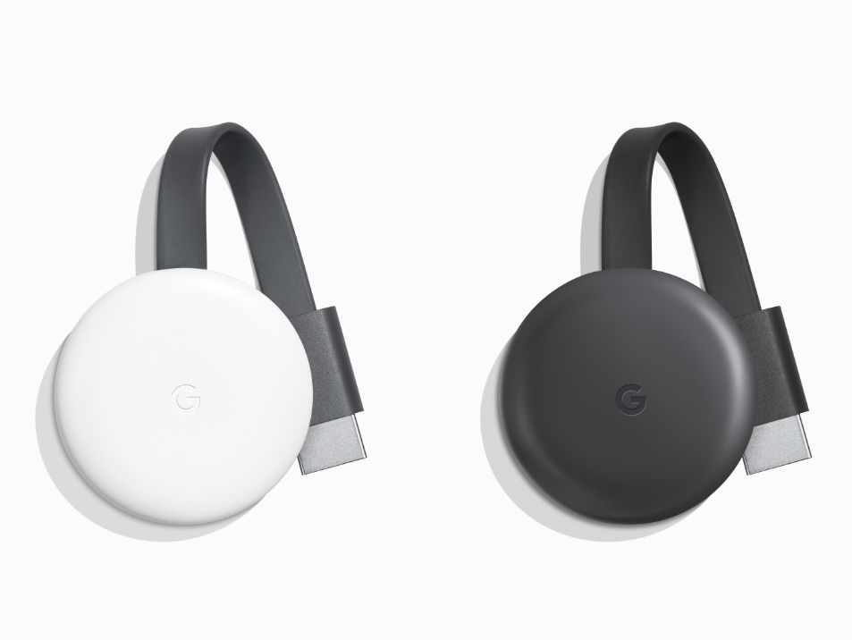 The 2018 Chromecast is extremely similar to its predecessor 9c16554e04
