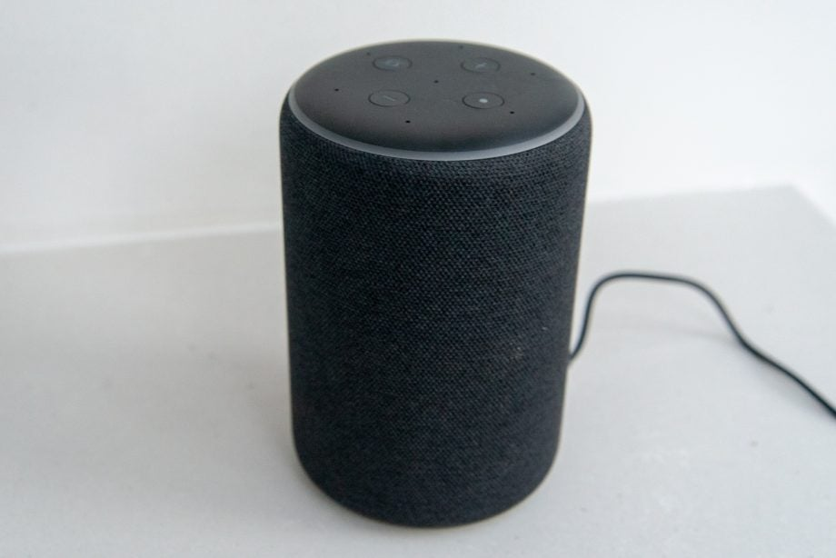 Amazon Echo Plus (2nd Gen) side
