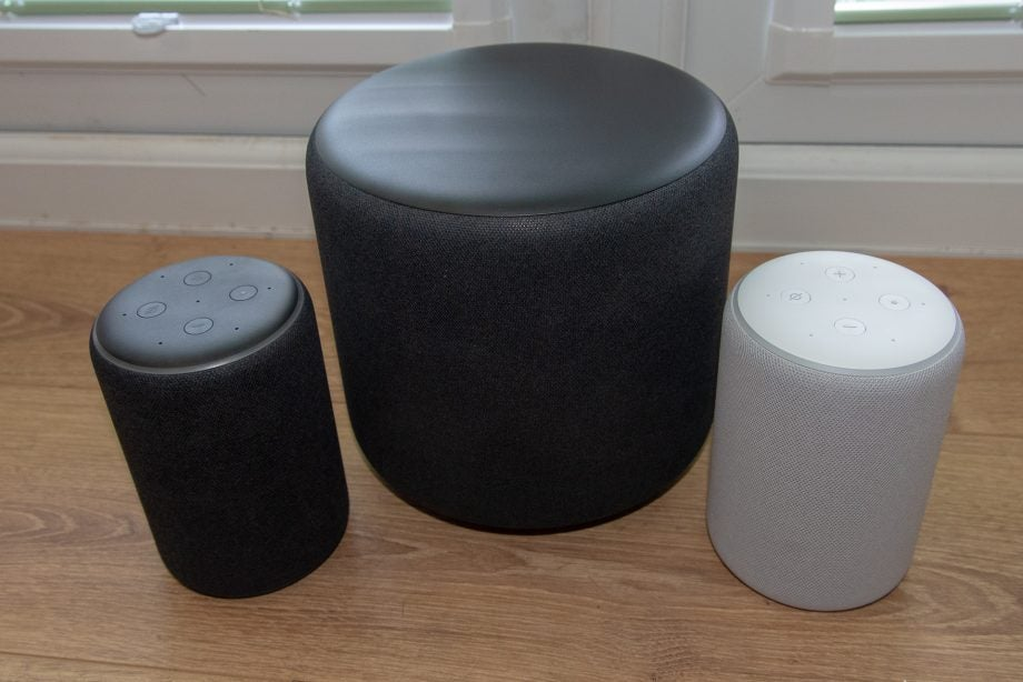 Amazon Echo Sub with Amazon Echo Plus speakers