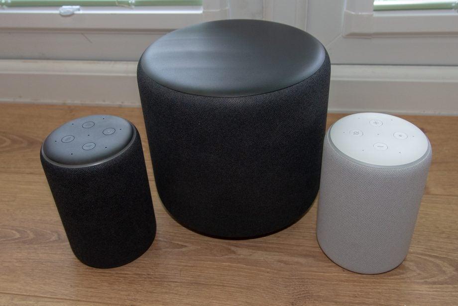 Amazon Echo Sub with Amazon Echo Plus speakers