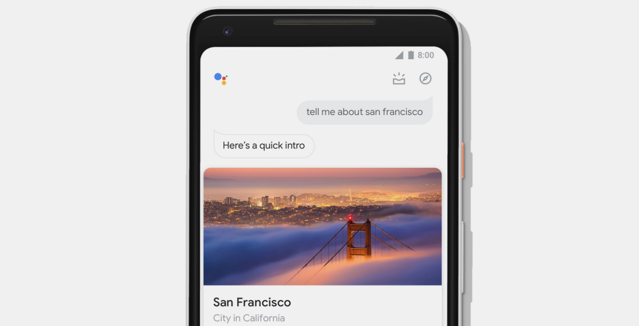 Google Assistant s a big makeover at the intersection of voice and touch