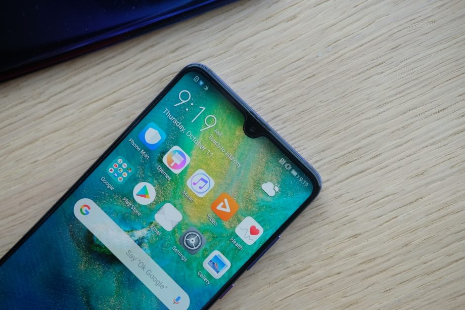 Huawei Mate 20 review: Say hi to the 'Dewdrop' notch