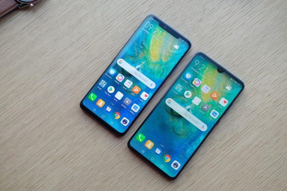 Huawei Mate 20 Pro vs Mate 20